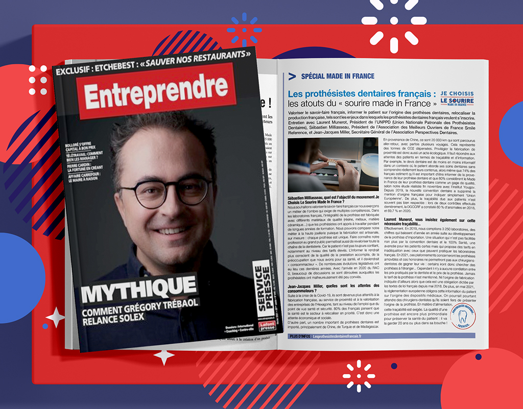 Entreprendre spécial Made in France